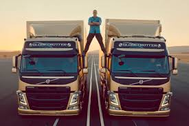 volvo lorry this volvo trucks ad with jean claude van damme will split your mind