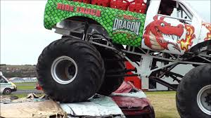 videos of monster trucks crushing cars monster truck crushing cars dailymotion video