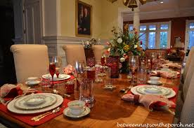 valentine u0027s day table setting