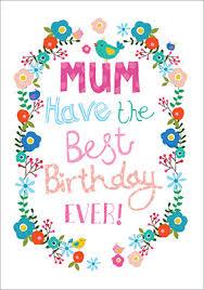mum birthday card my blog