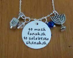 dreidel lights hanukkah necklace etsy