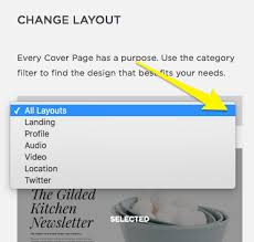 cover layout com cover page layouts squarespace help