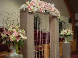 church decorations for wedding flowers church decoration
