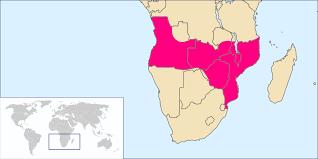 Mozambique Map Angola Mozambique Map