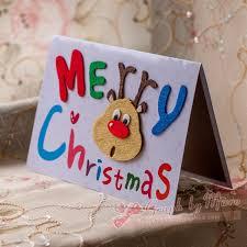 free shipping new year greeting card handmade