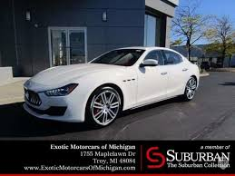 maserati ghibli sedan 2018 maserati ghibli in troy mi united states for sale on jamesedition