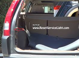 honda crv wrench light how to change the tail light on honda cr v 2002 2006 reset service