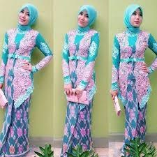 model baju kebaya muslim desain model kebaya muslim modern dan cantik fashion muslim