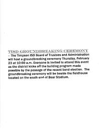 gpisd 2015 bond program new gyms football fieldhouse news headlines center broadcasting live local reaching out