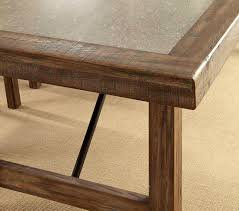 Rustic Oak Dining Tables Rustic Oak Dining Table Fa562 Transitional Dining