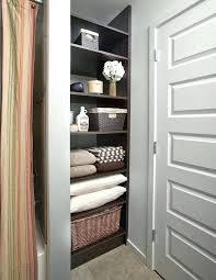 bathroom closet design bathroom closet storage ideas linen closet organizing create more