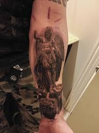 Tattoos On Forearm - 24 archangel michael tattoos on forearm