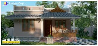 900 sqft Small Low Bud home design by My Homes Designers & Builders