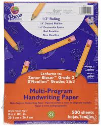 lined writing paper for 1st grade amazon com pacon multi program handwriting paper 8 amazon com pacon multi program handwriting paper 8