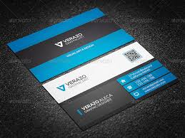 Print Business Cards Word Corporate Business Card 07 By Verazo Graphicriver