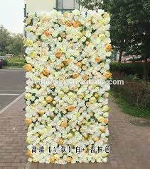 wedding backdrop aliexpress artificial flower wall for wedding backdrop stage background