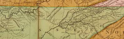 Eastern Tennessee Map by Moses Crawford Tennessee U0027s Earliest Cabinetmaker Revealed The