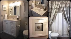 Small Bathroom Makeover Small Bathroom Makeover Tour Youtube