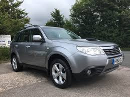 subaru forester 2017 silver used subaru forester cars for sale motors co uk