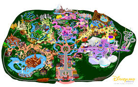 Printable Map Of Disney World by Disneyland 7 0 By Mrzahta On Deviantart