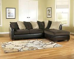Chocolate Brown Sectional Sofa With Chaise Sectional Gemini Chocolate Contemporary Faux Leather