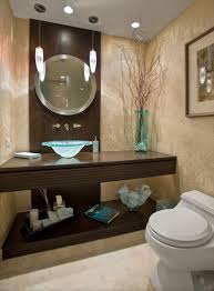 tiny bathroom sink small ideas with glass pedestal round wall mirror with posh glass sink design and elegant small bathroom decorating idea feat twin