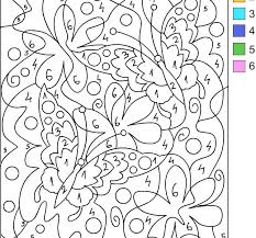 fancy color number coloring pages adults 33