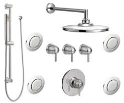 ts33002 kit moen arris series vertical spa trim combo kit chrome
