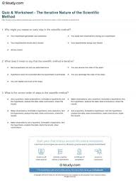 common worksheets experimental design worksheet answers