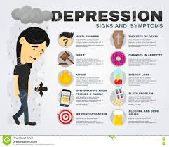 cartoon alcohol abuse depression signs and symptoms infographic concept vector flat