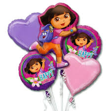 balloon bouquet nyc the explorer birthday mylar balloon bouquet not inflated