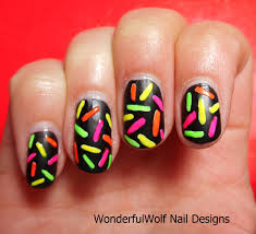 nail art designs with neon colors gallery nail art designs