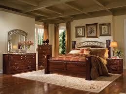Wooden King Size Bed Frame Bed Frame Bedroom Furniture Wonderful Dark Brown Color Wood