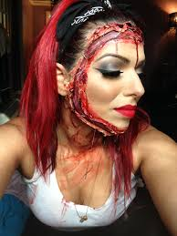 stitched on face halloween make up u2013 kara delfino make up artist