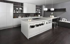 white gloss curved kitchen units top mount sink white brown