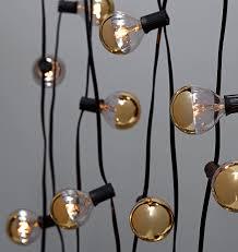 light bulb string lights 20 gold bulb string lights rejuvenation