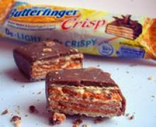 three crisps butterfinger nestle crunch and baby ruth dessert