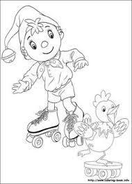 coloriage dessins noddy 5 coloring pgs embroidery