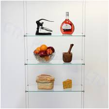 Hanging Bathroom Shelves by Ceiling Suspended Glass Shelf Gatco Latitude Glass Bathroom Shelf