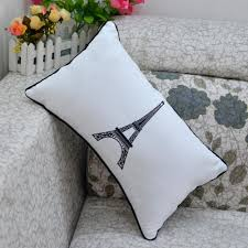 aliexpress com buy black white deer pillow nordic geometric