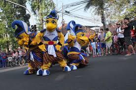 Bio Di Bandung bca bca kenalkan maskot bca indonesia open di bandung