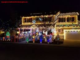 Christmas Lights House by Best Christmas Lights And Holiday Displays In Modesto Stanislaus