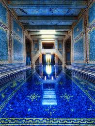 Inside Swimming Pool The Azure Blue Indoor Pool At Hearst Castle The Meta Picture