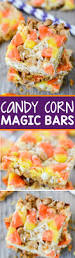 candy corn magic bars recipe magic bars peanut butter chips
