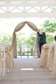 wedding arch lace burlap and lace wedding arch allmadecine weddings affordable