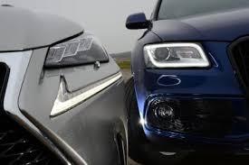 lexus vs audi lexus nx vs audi q5 auto express