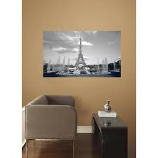 roommates 60 in w x 36 in h paris 2 piece peel and stick wall roommates 60 in w x 36 in h paris 2 piece peel and