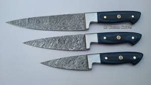 custom made kitchen knives damascus steel knives made custom damascus chef knife set