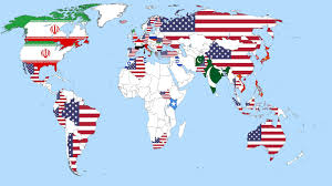 Can I See A Map Of The United States by Which Countries Are A Threat To World Peace Youtube