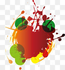 paint splatter color liquid pigment png image for free download
